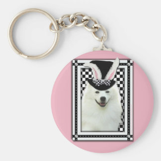 Easter - Some Bunny Loves You - Eskie Key Chain