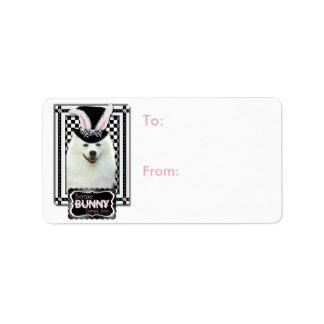 Easter - Some Bunny Loves You - Eskie Address Label