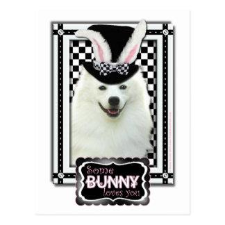 Easter - Some Bunny Loves You - Eskie Postcard