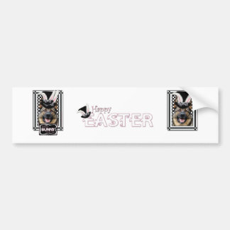 Easter - Some Bunny Loves You - German Shepherd Bumper Sticker