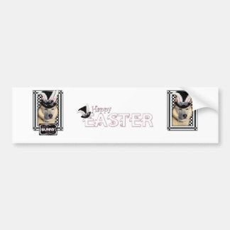 Easter - Some Bunny Loves You - Husky Car Bumper Sticker