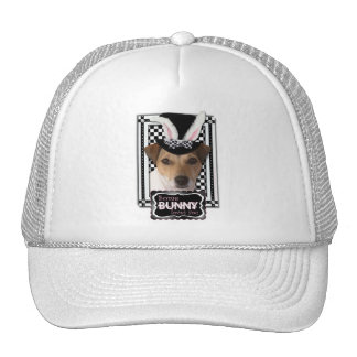 Easter - Some Bunny Loves You - Jack Russell Trucker Hat