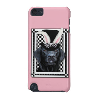Easter - Some Bunny Loves You - Labrador - Black iPod Touch (5th Generation) Cover