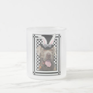 Easter - Some Bunny Loves You - Mastiff Frosted Glass Mug