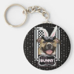 Easter - Some Bunny Loves You - Pitbull Keychain