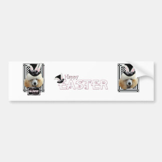 Easter - Some Bunny Loves You - Poodle - Apricot Bumper Sticker