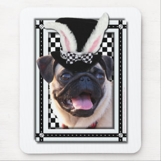 Easter - Some Bunny Loves You - Pug Mouse Pad