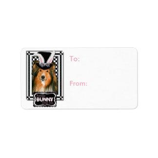 Easter - Some Bunny Loves You - Sheltie Address Label