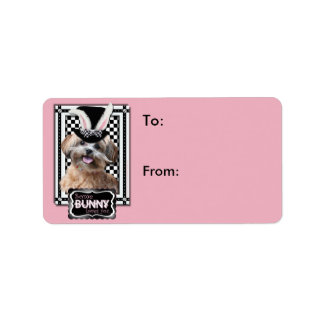 Easter - Some Bunny Loves You - ShihPoo Address Label