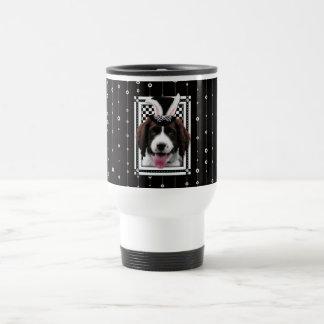 Easter - Some Bunny Loves You - Springer Spaniel Stainless Steel Travel Mug
