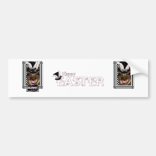 Easter - Some Bunny Loves You - Vallhund Bumper Stickers