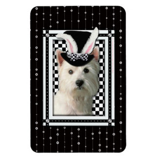 Easter - Some Bunny Loves You - Westie Magnet