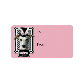 Easter - Some Bunny Loves You - Whippet Address Label