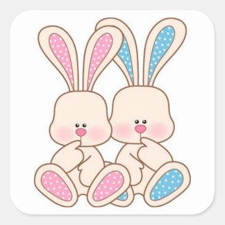 Easter Square Sticker
