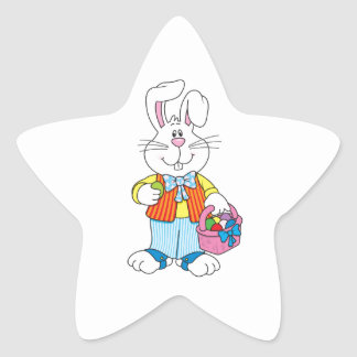 Easter Star Sticker