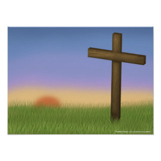"""Easter Sunrise"" Poster"