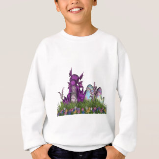 Easter Surprise Baby Dragon Sweatshirt