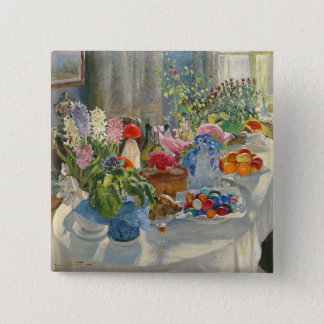 Easter Table 15 Cm Square Badge