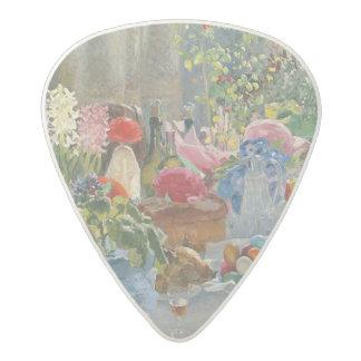 Easter Table Acetal Guitar Pick