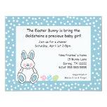 "Easter theme baby shower invitation BOY 4.25"" X 5.5"" Invitation Card"