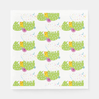 Easter-Themed Napkins Disposable Serviette