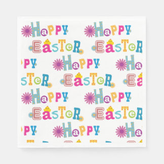 Easter-Themed Napkins Paper Napkins