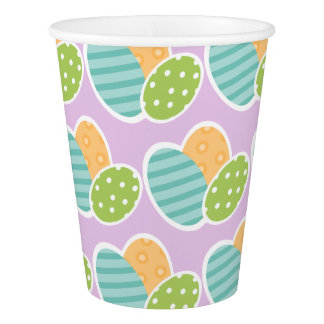 Easter-themed Paper Cups