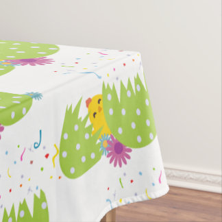 Easter-Themed Table Cloth