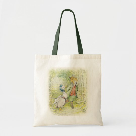 Easter, TOTE BAG ,  Jemima puddle duck