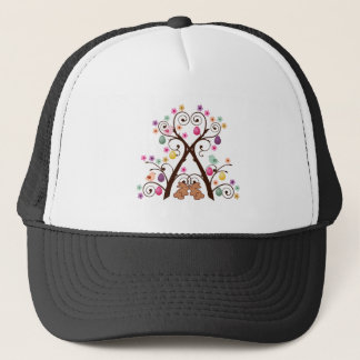 Easter Tree Trucker Hat