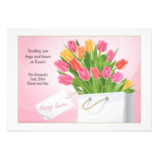 Easter Tulips Card
