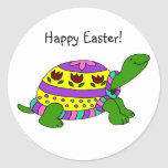 Easter turtle stickers