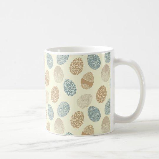 EASTER VINTAGE EGGS COFFEE MUG