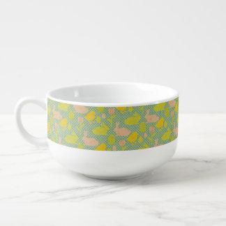 Easter Wallpaper Soup Mug