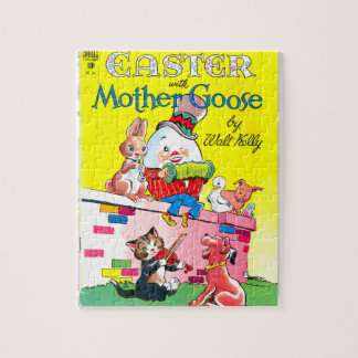 Easter With Mother Goose, No. 185 Jigsaw Puzzle