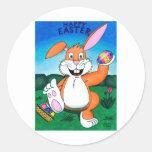 Easter Wonder Classic Round Sticker