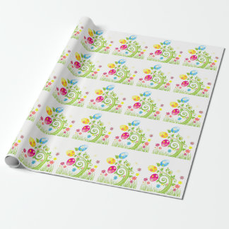 Easter basket wrapping paper zazzle easter wrapping paper negle Image collections