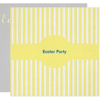Easter Yellow Bespoke Invite