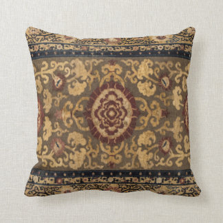 Eastern Accent Vintage Persian Carpet Pattern Cushion
