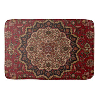 Eastern Accent Vintage Persian Pattern Bath Mats