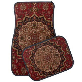Eastern Accent Vintage Persian Pattern Car Mat