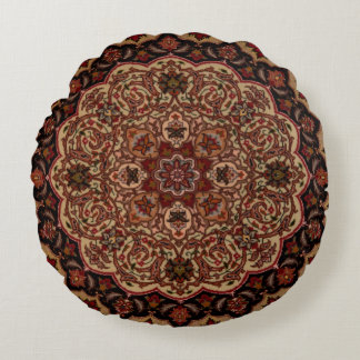 Eastern Accent Vintage Persian Pattern Round Cushion