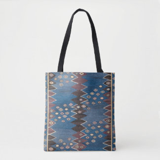 Eastern Accent Vintage Persian Pattern Tote Bag