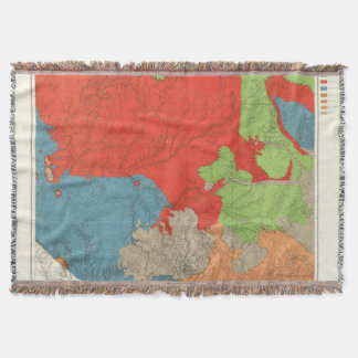 Eastern Arizona and Western New Mexico 2 Throw Blanket