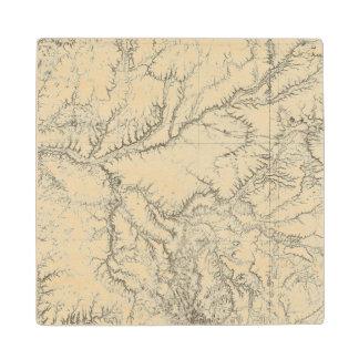 Eastern Arizona and Western New Mexico 2 Wood Coaster
