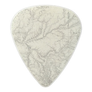 Eastern Arizona and Western New Mexico Acetal Guitar Pick