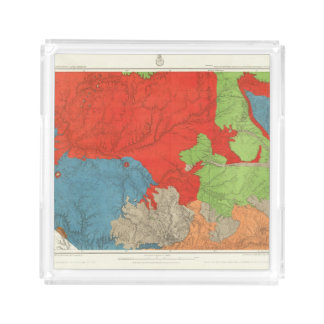 Eastern Arizona and Western New Mexico Acrylic Tray