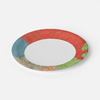 Eastern Arizona and Western New Mexico Paper Plate