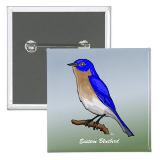 Eastern Bluebird rev.2.0 Buttons and Flair