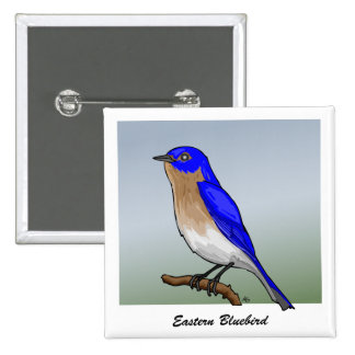 Eastern Bluebird rev.2.0 Buttons and Flair